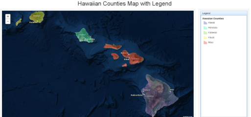 Counties of the Hawaiian Islands